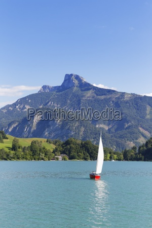 austria upper austria salzkammergut view of