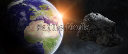 pericolo impatto morte spazio universo cosmo