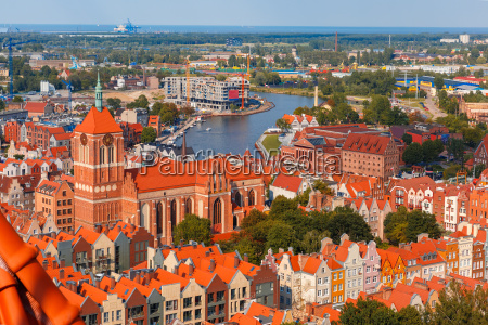 old town of gdansk poland