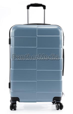 stor rod rejse kuffert isoleret pa
