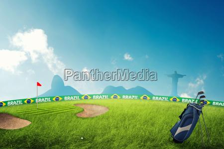 sport brasilien spille golf