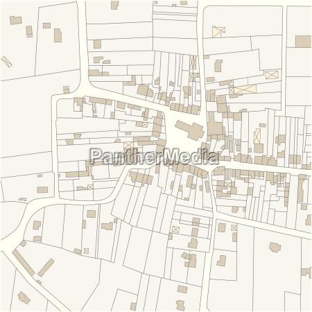 bygninger territorium dyr bil kort landkort