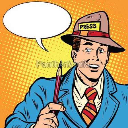 positive retro journalist interviews presse medier