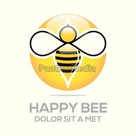 logo beehive sod naturlig og honeycomb