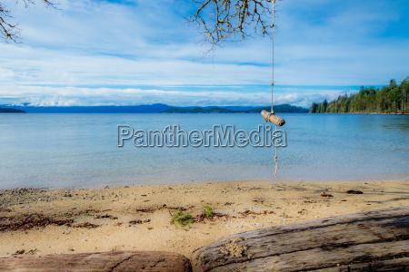 campsite swing