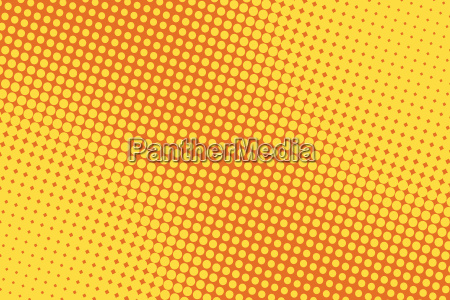 retro tegneserie gul baggrund raster gradient