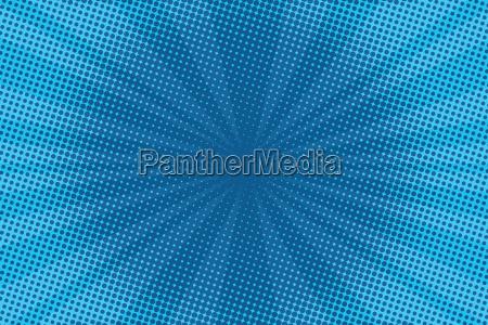 retro tegneserie bla baggrund raster gradient