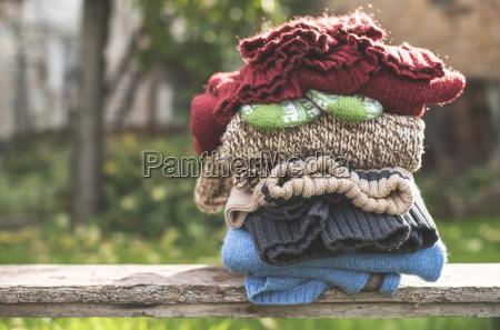 stilleben afgorelse mode vinter handske uld