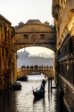 italy veneto venice bridge of sighs