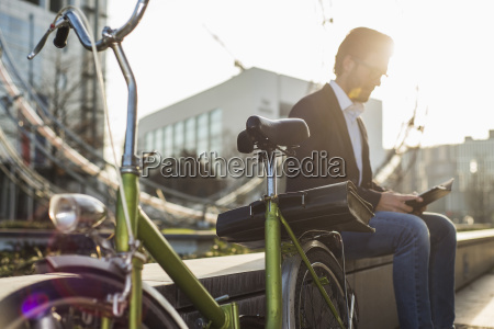 tyskland frankfurt am main unge forretningsmand
