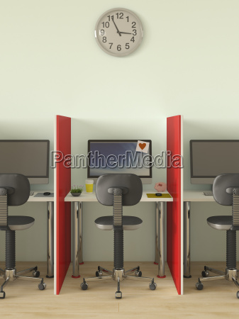 individual styling of computer workplace
