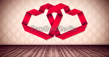 rum trae romantisk mur valentinsdag digital