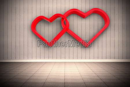rum romantisk mur valentinsdag digital forbundet