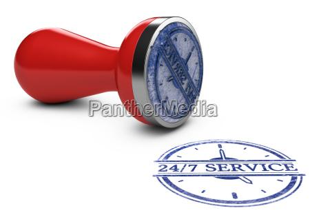 nonstop service 24 timer og 7