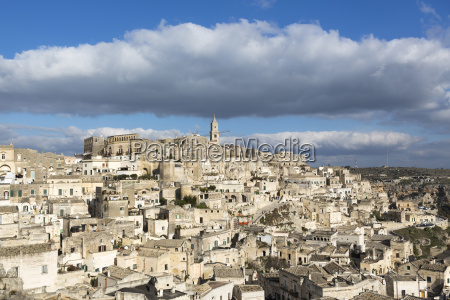 overview of sassi di matera one