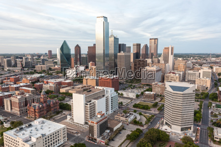 dallas downtown skyline
