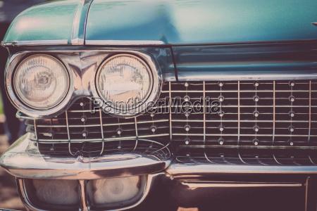 vintage bil forlygte