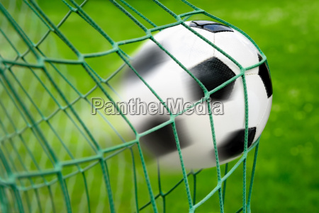 fodbold mal med fuld dynamisk effekt