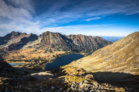 bjerglandskab i tatra mountain national park