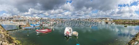 portugal algarve lagos panoramic view of