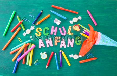 baggrund for skolens begyndelse
