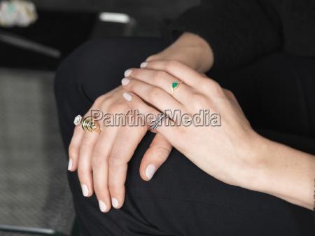 hand ring finger makrooptagelse naerbillede feminin