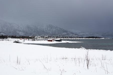 tur rejse vinter norge frossen frostbundet