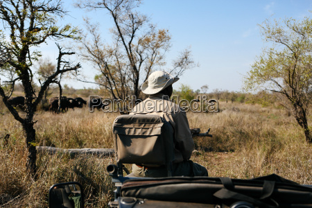 tur rejse trae afrika hat udendore