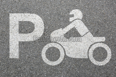 parkering motorcykel parkering motorcyklist trafik