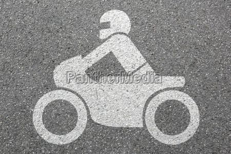 motorcykel ridning motorcyklist vejtrafik