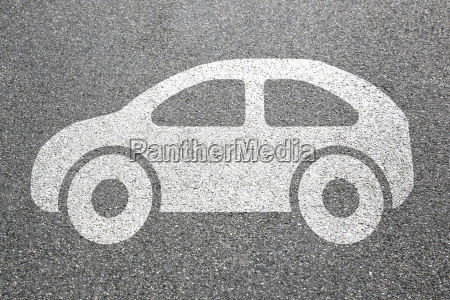 bil koretoj trafik mobilitet pictogram