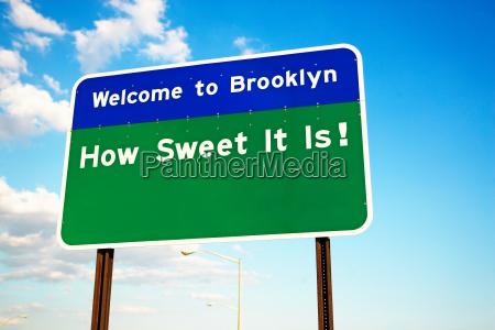 velkommen til brooklyn tegn
