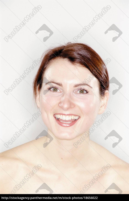 portrait, of, a, happy, woman - 18656022