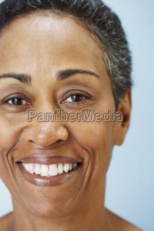 portrait of mature adult woman