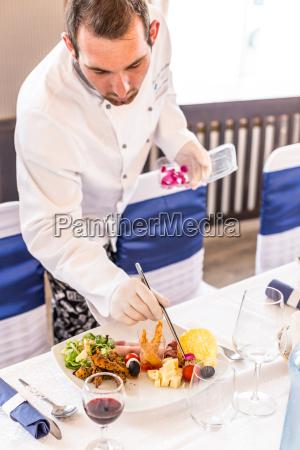 dekoration mad maltid kok prydelse zier