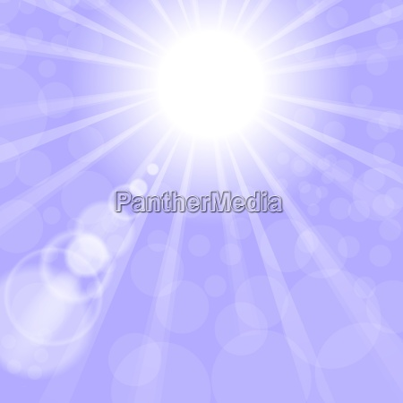 bla paradis himmerige himmel solnedgang lys
