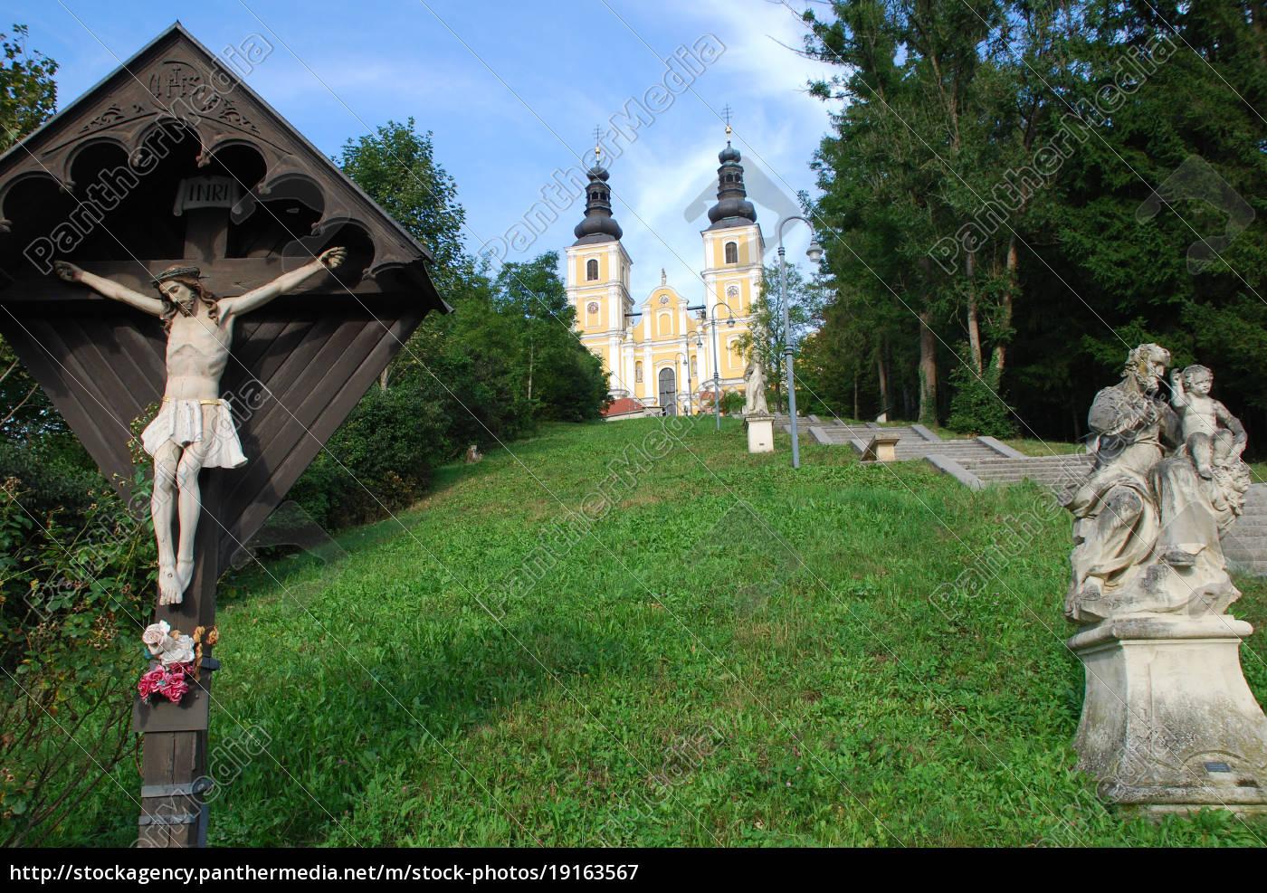 basilica, maria, trost, mariatrost, graz, steiermark - 19163567