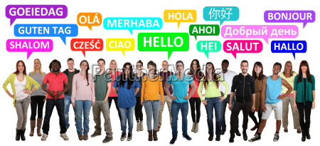 hej god dag multikulturelle mennesker maend