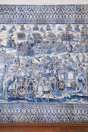 old azulejos the iconic blue glazed