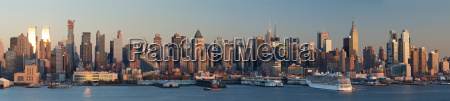 panoramic view from weehawken new jersey