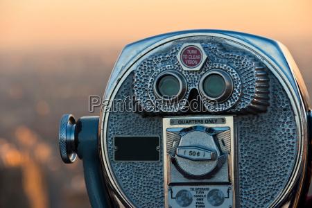 coin operated binoculars manhattan new york