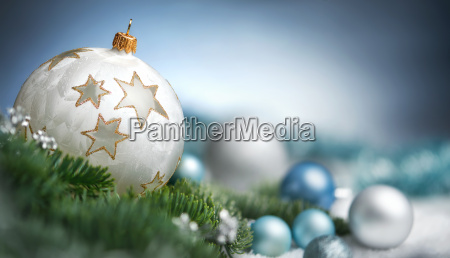christmas bolde arrangement i close up