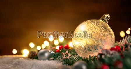 gennemsigtig jule bold og julepynt i