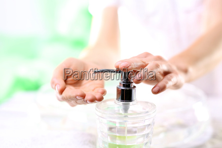 mano mani punta pointer igiene cosmetici