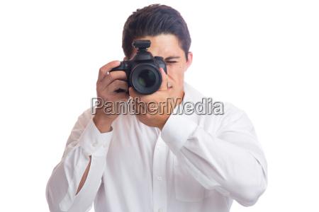 unge fotograf fotografering fotografi profession med