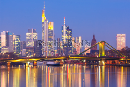 frankfurt am main i morgen tyskland