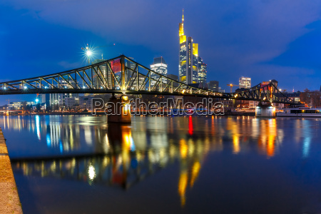 night frankfurt am main tyskland