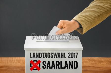statens valg 2017 saarland