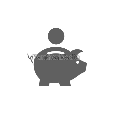 piggy bank ikon
