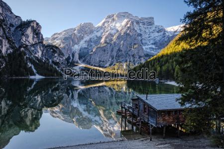 italien sydtyrol lago di braies
